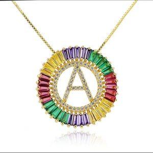 Jewelry - Circle Initial Chain